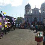 ¿Qué pasó con las carretas peregrinas que llegaron este lunes al Santuario de Popoyuapa?
