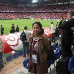 Destacada cronista deportiva nicaragüense anuncia que es positivo al Covid-19
