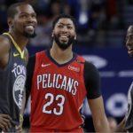 Kevin Durant y Anthony Davis encabezan la lista de 16 figuras de torneo virtual de la NBA