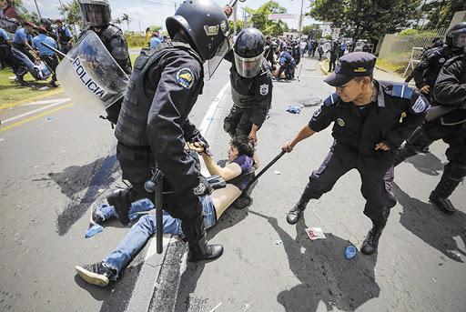 policia nacional, Nicaragua
