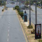 Managua queda vacía en Lunes Santo por la pandemia del Covid-19