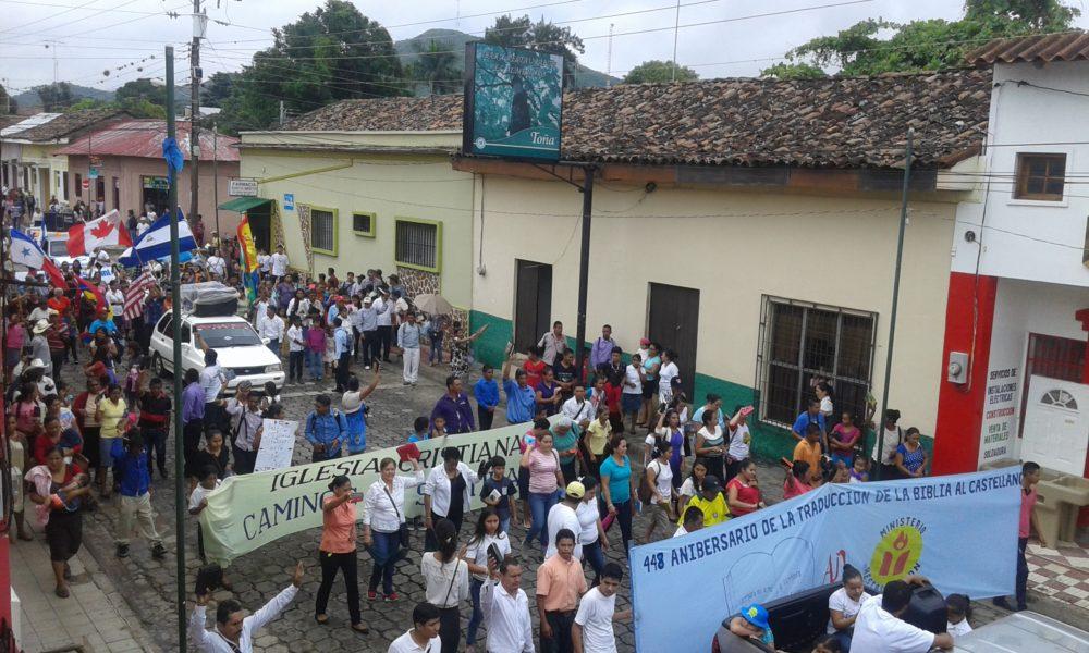 Evangélicos en Nicaragua