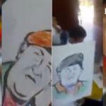 Obligan a niños de preescolar a venerar figura de Hugo Chávez