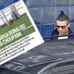 En plena pandemia por el coronavirus, Cristiano Ronaldo regresó a la cancha y entrenó