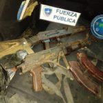 Dos nicaragüenses fueron capturados con AK en Costa Rica, cerca de la frontera