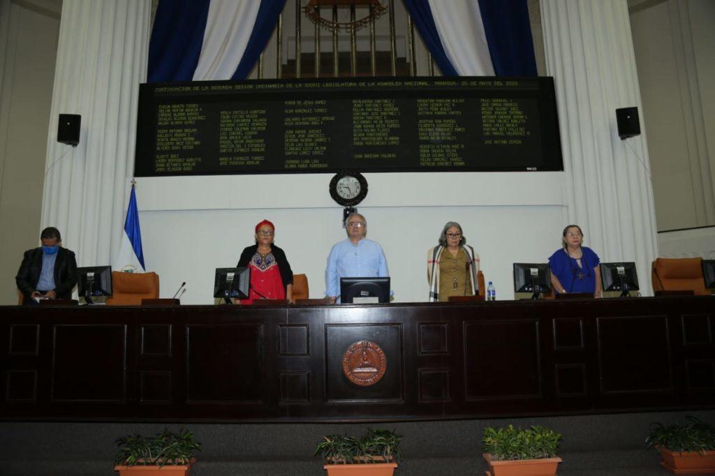 Diputados FSLN, Edwin Castro, coronavirus, Covid-19, pandemia, Asamblea Nacional