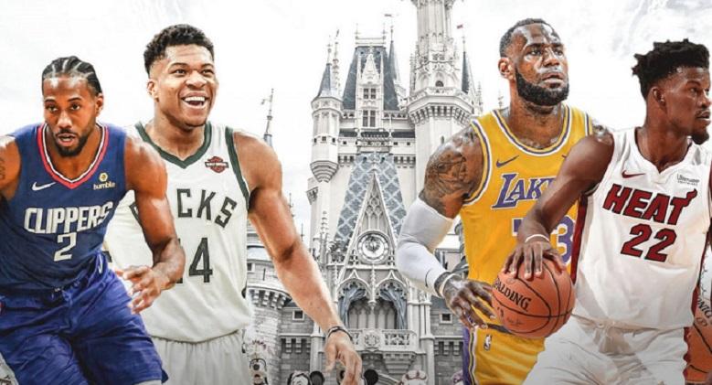NBA considera las instalaciones de Disney Word para reanudar temporada