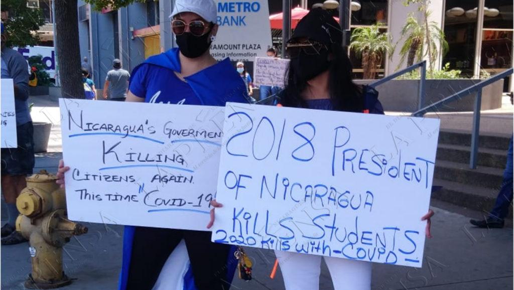 coronavirus, nicaragüenses, consulado Los Angeles, pandemia, Nicaragua