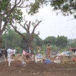 Continúan excavaciones de tumbas en cementerio Caminos del Cielo en Managua