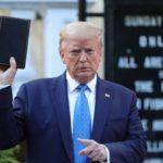 Trump amenaza con desplegar tropas si continúan disturbios