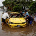 Triángulo Norte de Centroamérica golpeado por lluvias en medio de la pandemia
