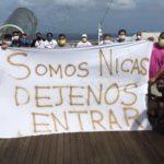 Más de 90 nicaragüenses varados en crucero porque gobierno no los deja ingresar al país