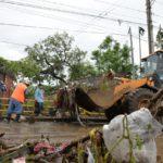 Lluvia causa inundaciones en varias partes de Managua