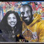 Murales de Kobe Bryant intactos en medio de las protestas en Los Ángeles por la muerte de George Floyd