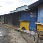 Varios tramos cerrados en el mercado La Mascota de Diriamba por temor al contagio del Covid-19