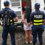 Detienen a supuesta traficante de drogas nicaragüense en Costa Rica