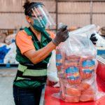 Más de 100 mil centroamericanos reciben alimentos gratis