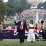 Trump reclama «unidad» en un Día de la Independencia atípico