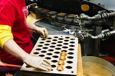 San Francisco's Golden Gate Fortune Cookie Factory (Photo credit: Jenna Lane/KCBS Radio)