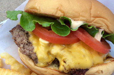 ShackBurger from Shake Shack (Photo credit: Nancy Vienneau/Tennessean/USA Today Network)