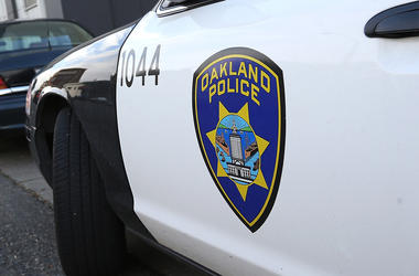 Oakland Police Vehicle