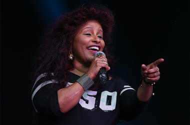 9/3/2017 - Chaka Khan on the main stage on day three of the Electric Picnic festival in Stradbally, County Laois. (Photo by PA Images/Sipa USA)