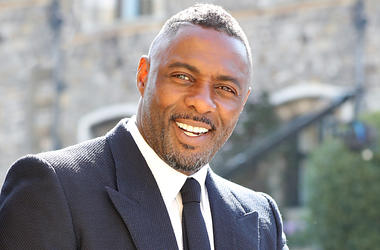 5/19/2018 - Idris Elba and Sabrina Dhowre (not pictured) arrives at St George's Chapel at Windsor Castle for the wedding of Meghan Markle and Prince Harry. (Photo by PA Images/Sipa USA)
