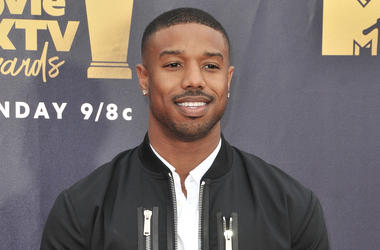 Michael B. Jordan at the 2018 MTV Movie And TV Awards held at Barker Hangar on June 16, 2018 in Santa Monica, CA, USA (Photo by Sthanlee B. Mirador/Sipa USA)
