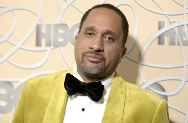 "In this Jan. 8, 2017 file photo, Kenya Barris arrives at the HBO Golden Globes afterparty in Beverly Hills, Calif. Netflix says it's signed ""black-ish"" creator Kenya Barris to an exclusive production agreement. The multi-year deal announced Thursday makes"