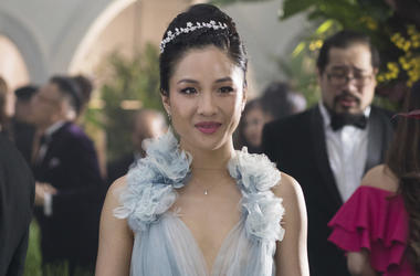 "This image released by Warner Bros. Entertainment shows Constance Wu in a scene from the film ""Crazy Rich Asians."" (Sanja Bucko/Warner Bros. Entertainment)"