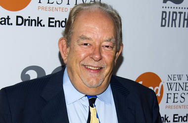 """In this Oct. 17, 2013 file photo, Robin Leach attends the Food Network's 20th birthday party in New York. Leach, whose voice crystalized the opulent 1980s on TV's """"Lifestyles of the Rich and Famous,"""" has died, Friday, Aug. 24, 2018. (Photo by Charles Syke"""