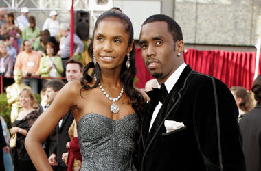 "In a Feb. 27, 2005 file photo, Sean ""P. Diddy"" Combs arrives with date, Kim Porter, for the 77th Academy Awards in Los Angeles. Sean ""Diddy"" Combs on Sunday, Nov. 18, 2018 is making his first public statements since the loss of longtime former girlfriend"
