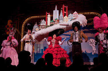 San Francisco Skyline Hat (Photo credit: Beach Blanket Babylon)