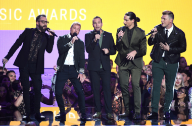 Backstreet Boys (Photo credit: Sipa USA)