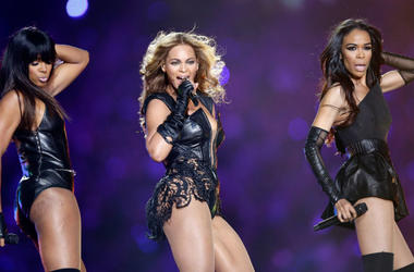 Kelly Rowland, Beyoncé Knowles and Michelle Williams of Destiny's Child (Photo credit: Ezra Shaw/Getty Images)