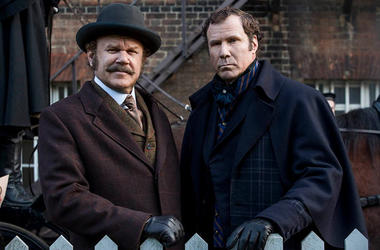 John C. Reilly and Will Ferrell in 'Holmes & Watson' (Photo credit: Sony Pictures)