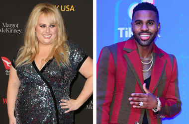 Rebel Wilson and Jason Derulo (Photo credit: F. Sadou/AdMedia/PA Images/Sipa USA)