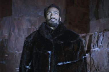 """Donald Glover as Lando Calrissian in """"Solo: A Star Wars Story"""""""