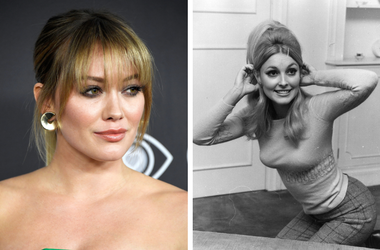 Hilary Duff and Sharon Tate