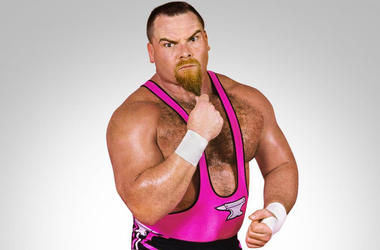 "Jim ""The Anvil"" Neidhart (Photo credit: WWE)"
