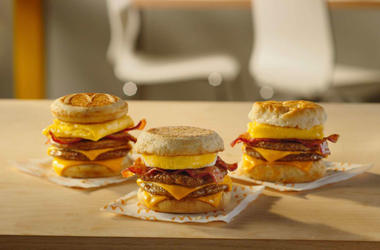 McDonald's Triple Breakfast Stacks