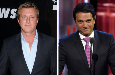 William Zabka and Ralph Macchio