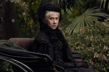 "Helen Mirren as Sarah Winchester in ""Winchester"""