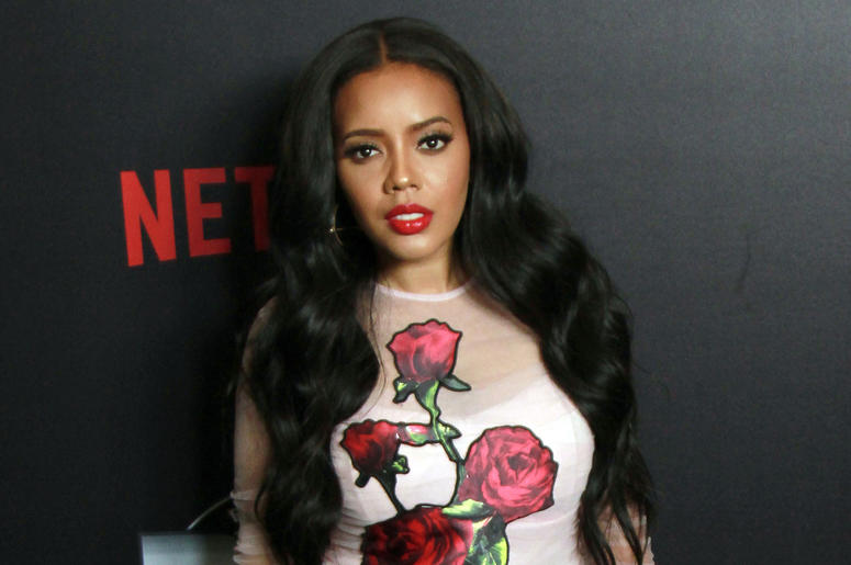 "10 September 2017 - Beverly Hills, California - Angela Simmons. Netflix ""Def Comedy Jam 25"" held at The Beverly Hilton. Photo Credit: Theresa Bouche/AdMedia"
