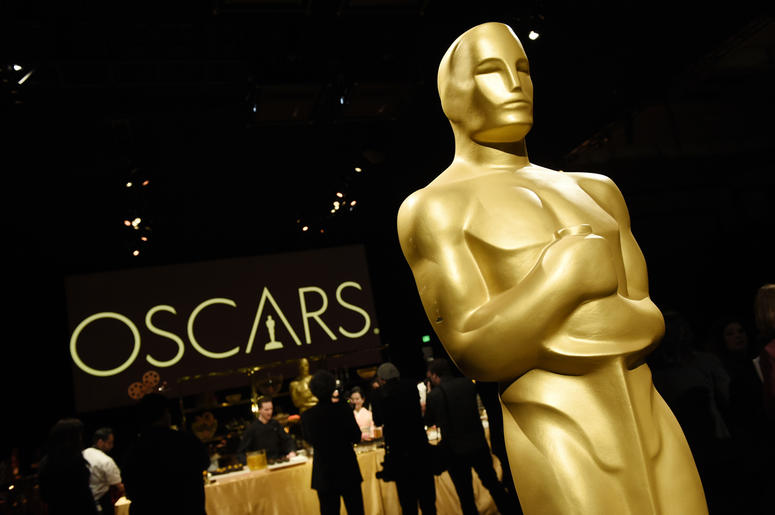An Oscar statue is pictured at the press preview for the 91st Academy Awards Governors Ball, Friday, Feb. 15, 2019, in Los Angeles. The 91st Academy Awards will be held on Sunday, Feb. 24. at the Dolby Theatre in Los Angeles. (Photo by Chris Pizzello/Invi