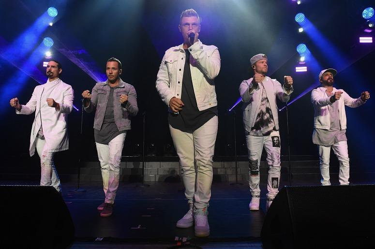 Backstreet Boys (Photo credit: Nicholas Hunt / Staff)