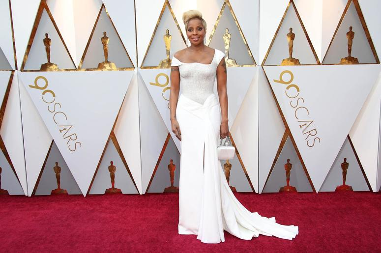 Mary J. Blige at the 2018 Oscars