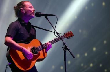 Radiohead performs during the Coachella Valley Music and Arts Festival at Empire Polo Club