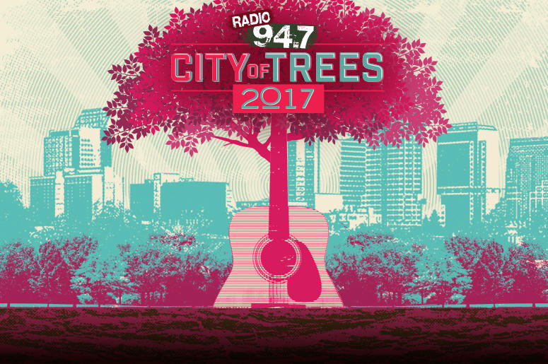 City of Trees, City of Trees 2017, Sacramento, Blink-182, DREAMCAR, Bishop Briggs, New Politics, The Greeting Committee, Free, Contest, Enter to win