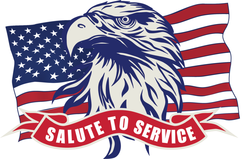 salute, service, military, wolf